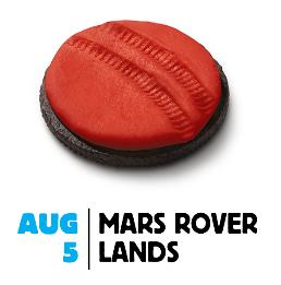 Mars Rover Lands